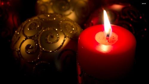 strenna, candela natalizia